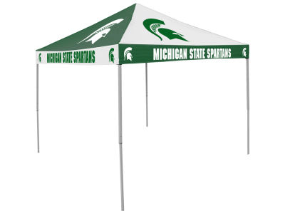 Michigan State Spartans Logo Brands Checkerboard Tent