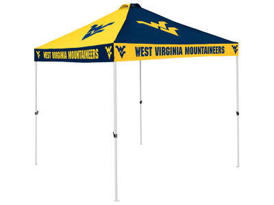 West Virginia Mountaineers Checkerboard Tent V