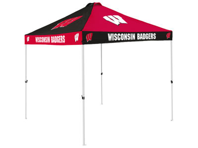Wisconsin Badgers Checkerboard Tent V