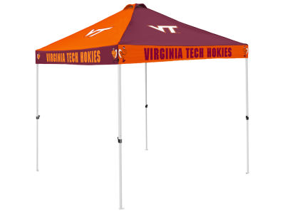 Virginia Tech Hokies Logo Brands Checkerboard Tent