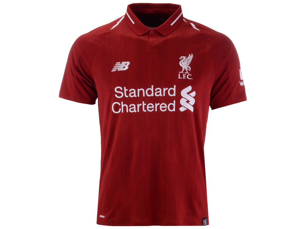 Liverpool FC New Balance Men s Club Team Home Stadium Jersey  8b989b71f