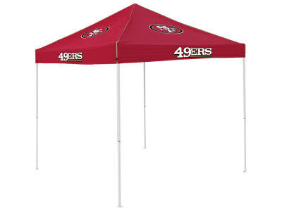 San Francisco 49ers Logo Brands Colored Tent