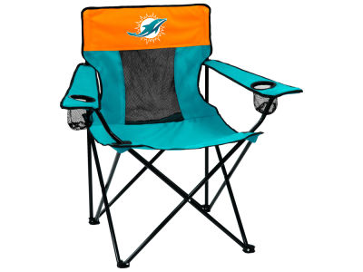 Miami Dolphins Logo Brands Elite Chair