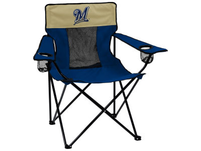 Milwaukee Brewers Logo Brands Elite Chair