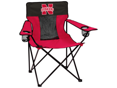 Nebraska Cornhuskers Logo Brands Elite Chair