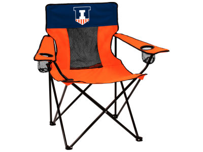 Illinois Fighting Illini Logo Brands Elite Chair