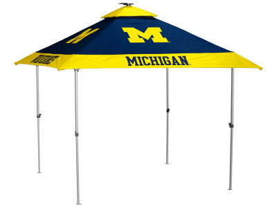 Michigan Wolverines Logo Brands Pagoda Tent
