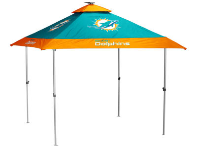 Miami Dolphins Logo Brands Pagoda Tent