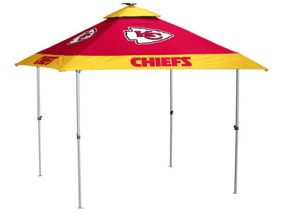 Kansas City Chiefs Logo Brands Pagoda Tent