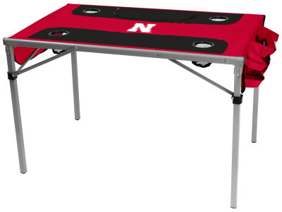Nebraska Cornhuskers Logo Brands Total Tailgate Table