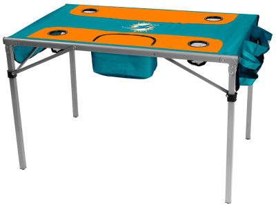 Miami Dolphins Logo Brands Total Tailgate Table
