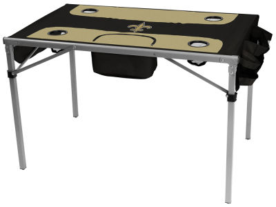 New Orleans Saints Logo Brands Total Tailgate Table