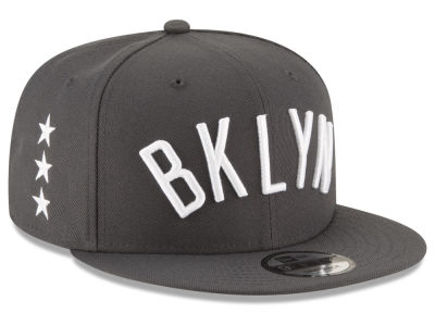 Brooklyn Nets New Era NBA Statement Jersey Hook 9FIFTY Snapback Cap