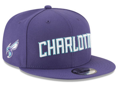 competitive price 0d744 e591c Charlotte Hornets New Era NBA Statement Jersey Hook 9FIFTY Snapback Cap