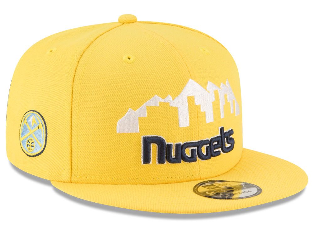 Denver Nuggets New Era NBA Statement Jersey Hook 9FIFTY Snapback Cap 9ab79efe4