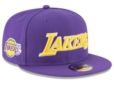 Los Angeles Lakers New Era NBA Statement Jersey Hook 9FIFTY Snapback Cap