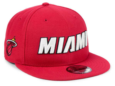 Miami Heat New Era NBA Statement Jersey Hook 9FIFTY Snapback Cap