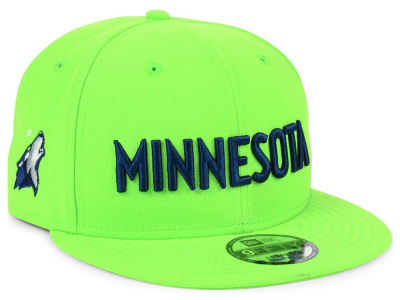 Minnesota Timberwolves NBA Statement Jersey Hook 9FIFTY Snapback Cap