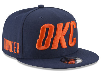 Oklahoma City Thunder New Era NBA Statement Jersey Hook 9FIFTY Snapback Cap