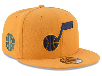 Utah Jazz New Era NBA Statement Jersey Hook 9FIFTY Snapback Cap