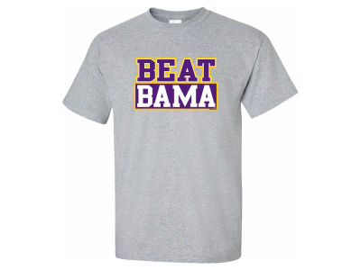 LSU Tigers NCAA Men's Beat Bama T-Shirt