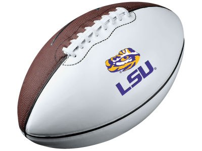 LSU Tigers Nike Autograph Football