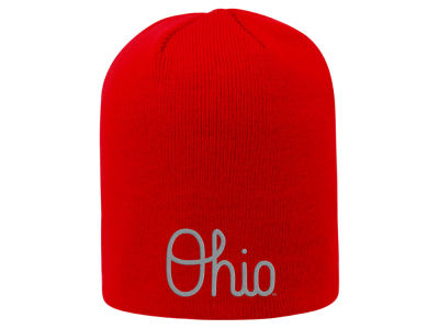 Top of the World NCAA Ohio Script Beanie Hats