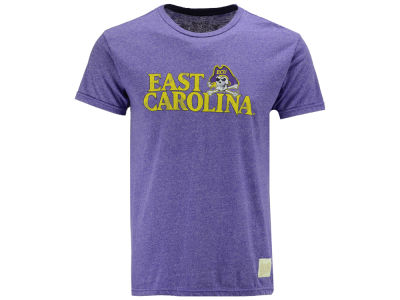 East Carolina Pirates Retro Brand NCAA Men's Retro Mock Twist Team Logo T-Shirt