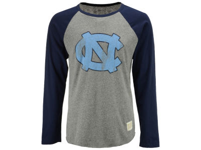 North Carolina Tar Heels Retro Brand NCAA Men's Team Logo Raglan T-shirt