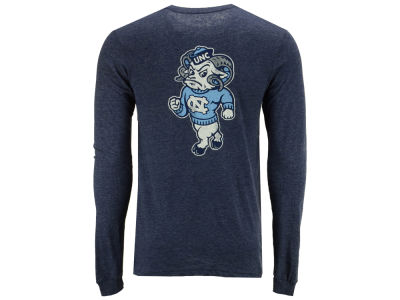 North Carolina Tar Heels Retro Brand NCAA Men's Tri-Blend Long Sleeve T-Shirt
