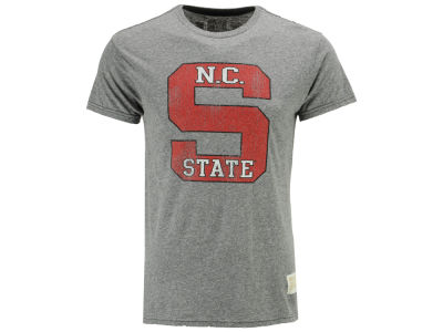 North Carolina State Wolfpack Retro Brand NCAA Men's Tri-Blend Vault Logo T-Shirt