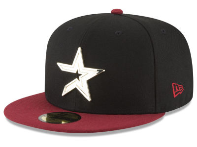 Houston Astros New Era MLB Golden Finish 59FIFTY Cap