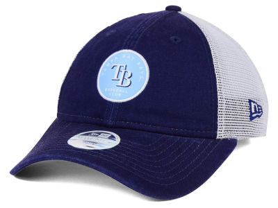 Tampa Bay Rays New Era MLB Women's Washed Trucker 9TWENTY Cap