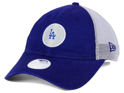 Los Angeles Dodgers New Era MLB Women's Washed Trucker 9TWENTY Cap