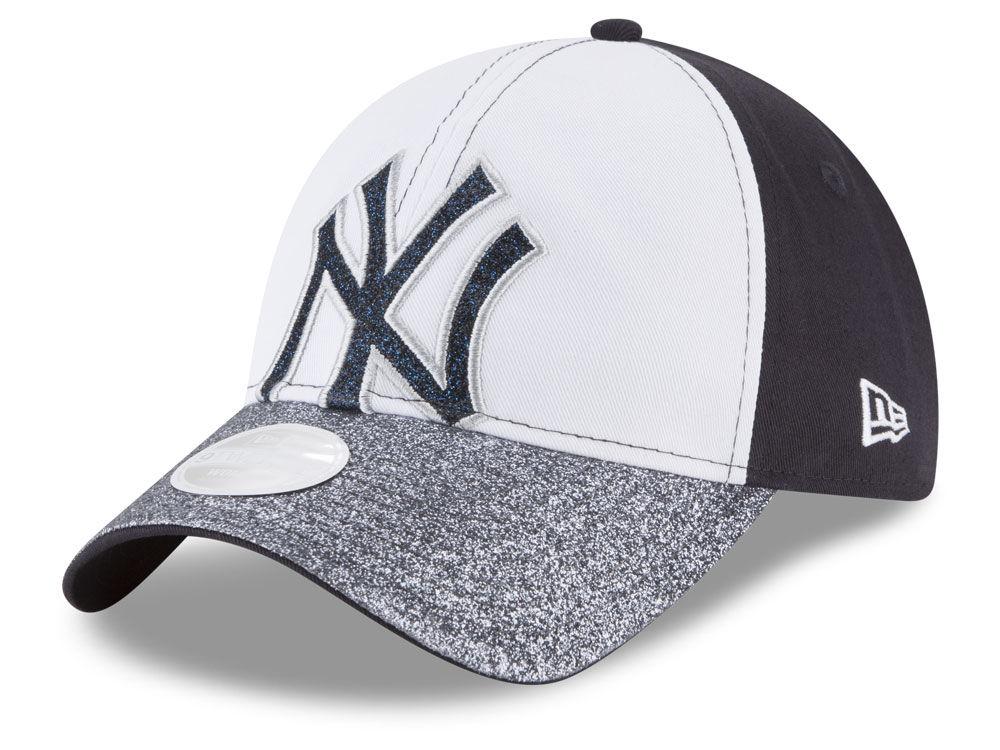 New York Yankees New Era MLB Women s Shimmer Shine 9TWENTY Cap ... ef0c6dfb4bdf