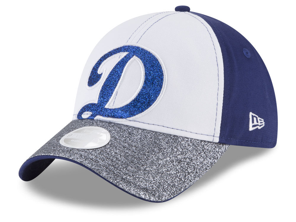 Los Angeles Dodgers New Era MLB Women s Shimmer Shine 9TWENTY Cap ... cffdb4de7