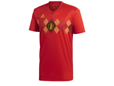 Belgium adidas Men's National Team Home Stadium Jersey