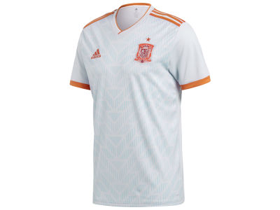 Spain adidas 2018 Men's National Team Away Stadium Jersey