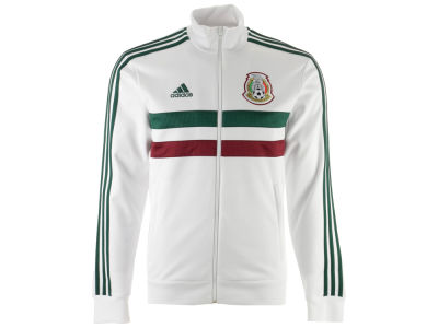 Mexico adidas Men's National Team 3 Stripe Track Jacket