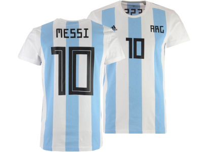 Argentina Lionel Messi adidas Youth National Team Player T-shirt