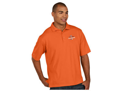 Houston Astros Antigua MLB World Series Champs Pique Xtra-Lite Polo V