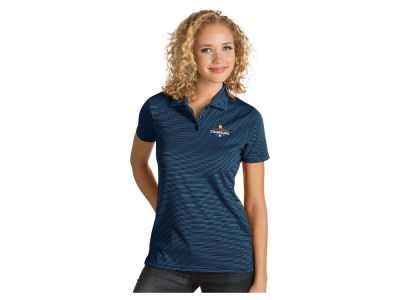 Houston Astros Antigua MLB World Series Champs Womens Quest Polo V