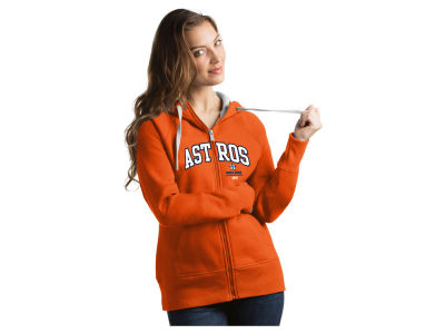 Houston Astros Antigua MLB WS Champs Women's Victory FZ Sweatshirt V