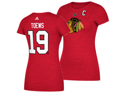 Chicago Blackhawks Jonathan Toews adidas NHL Women's Player T-Shirt