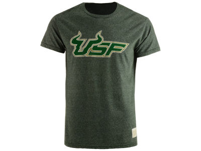 South Florida Bulls Retro Brand NCAA Men's Mock Twist T-Shirt