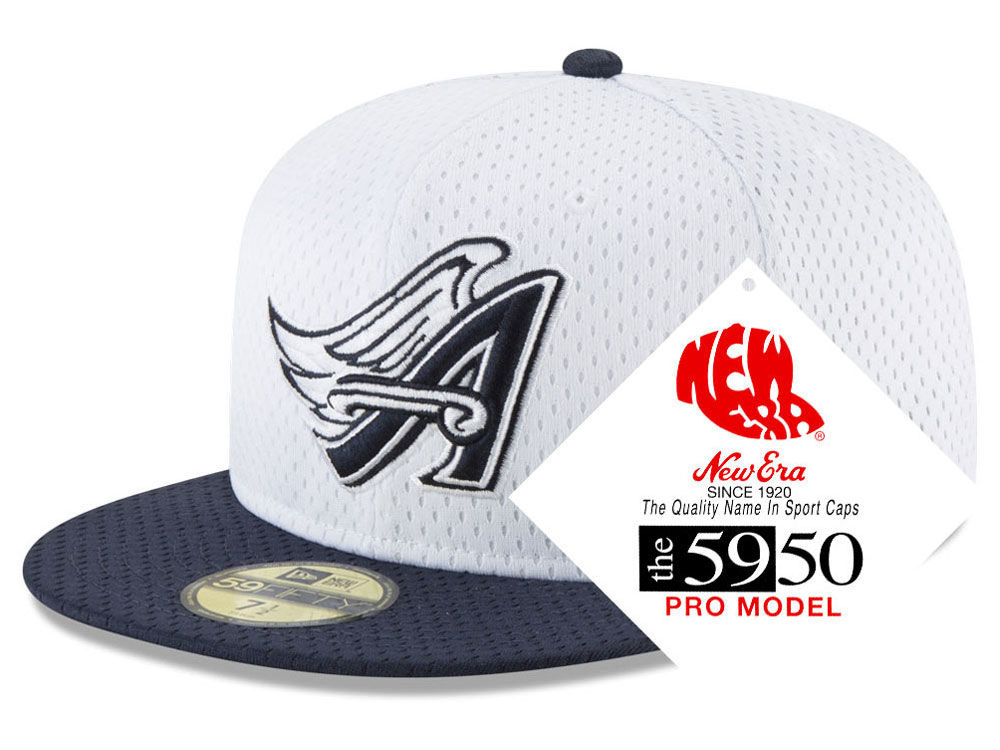 bf6969c7059 Los Angeles Angels New Era MLB Retro Classic Batting Practice 59FIFTY Cap
