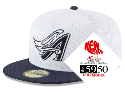 Los Angeles Angels New Era MLB Retro Classic Batting Practice 59FIFTY Cap
