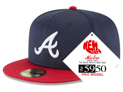 Atlanta Braves New Era MLB Retro Classic Batting Practice 59FIFTY Cap