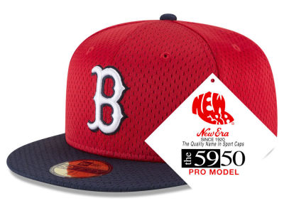 Boston Red Sox New Era MLB Retro Classic Batting Practice 59FIFTY Cap 5da89bbff75f