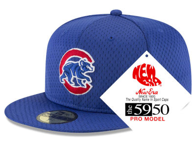 Chicago Cubs New Era MLB Retro Classic Batting Practice 59FIFTY Cap